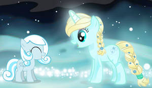 Snowdrop and Elsa by ppcnEarthAnimation