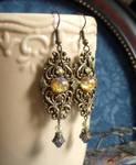 Aurora handmade earrings