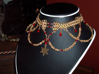 Chainmail Necklace G8 Mod by DesireeMorte