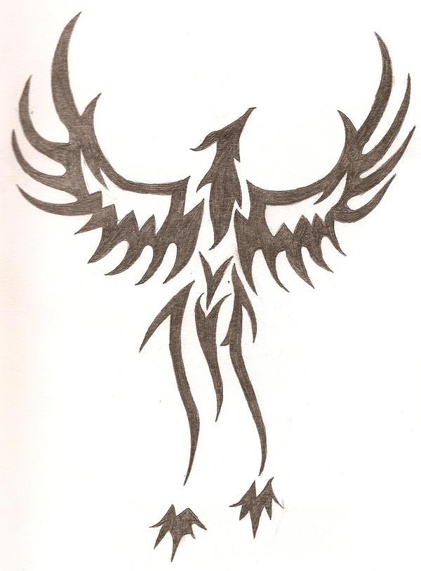 Tribal fenix by keegan613 on deviantart for Fenix tribal tattoo