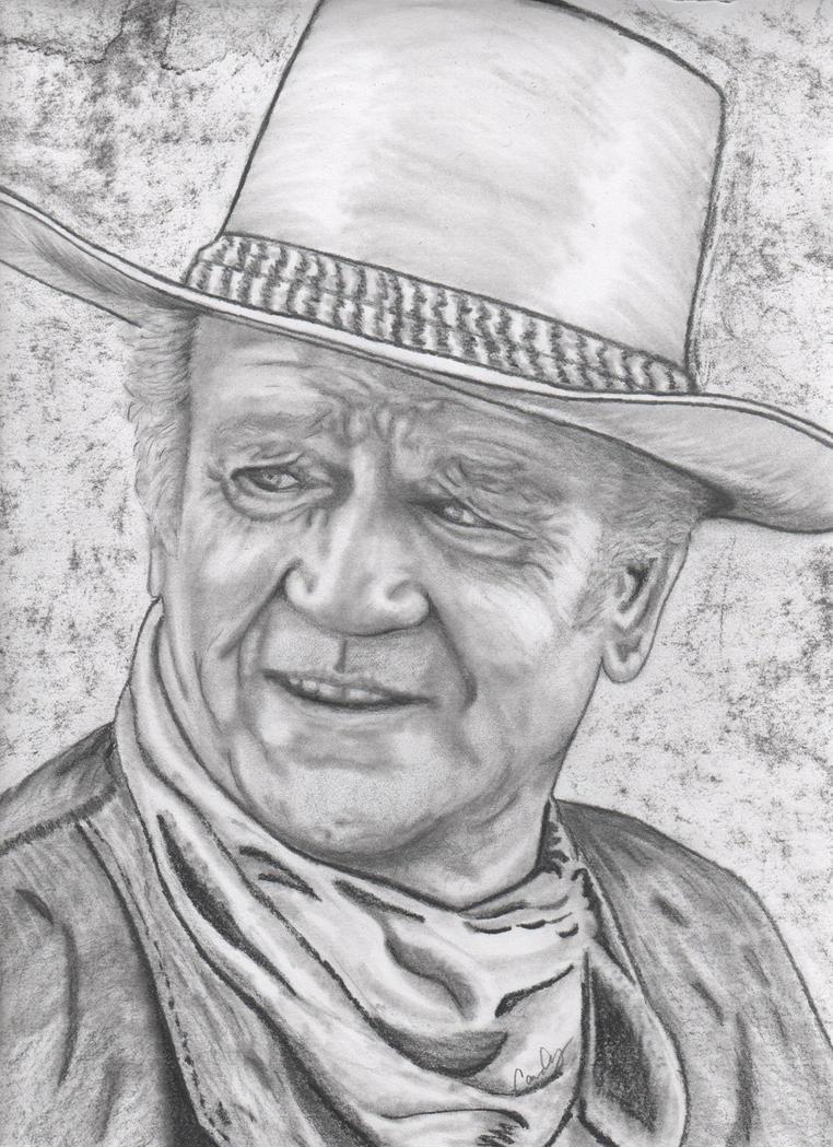 John Wayne by candysamuels