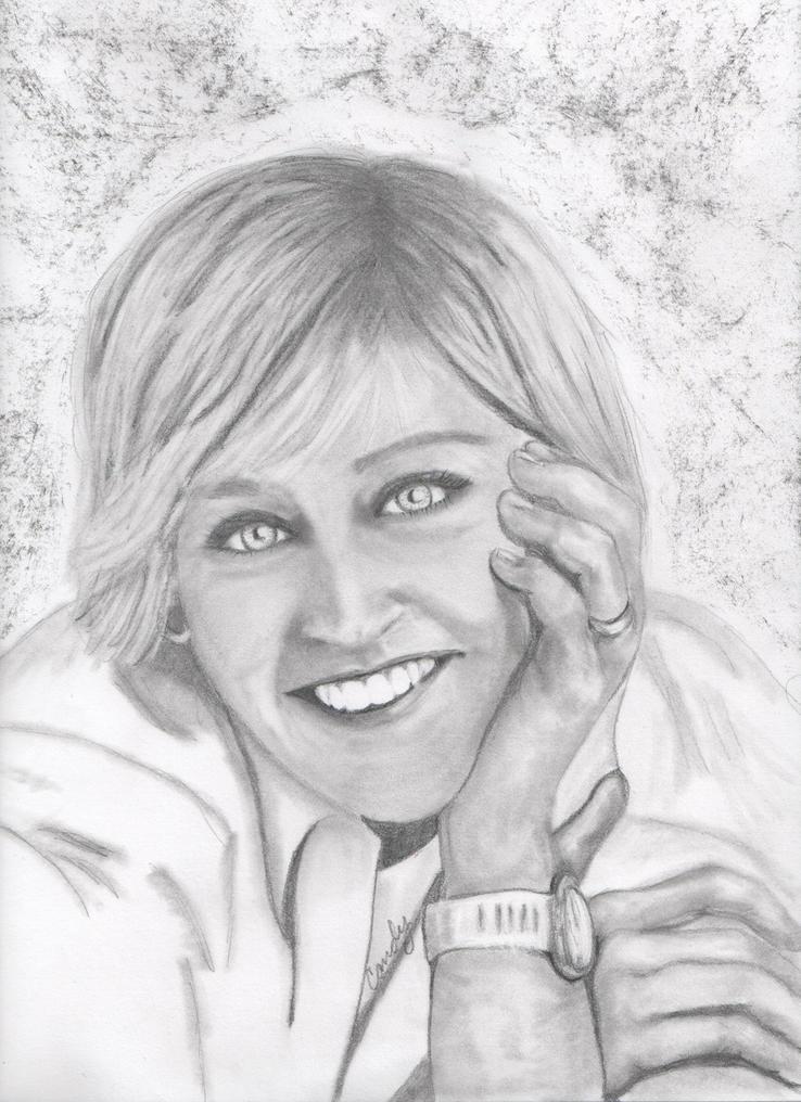Ellen DeGeneres by candysamuels