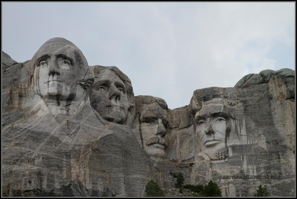 Mount Rushmore by candysamuels
