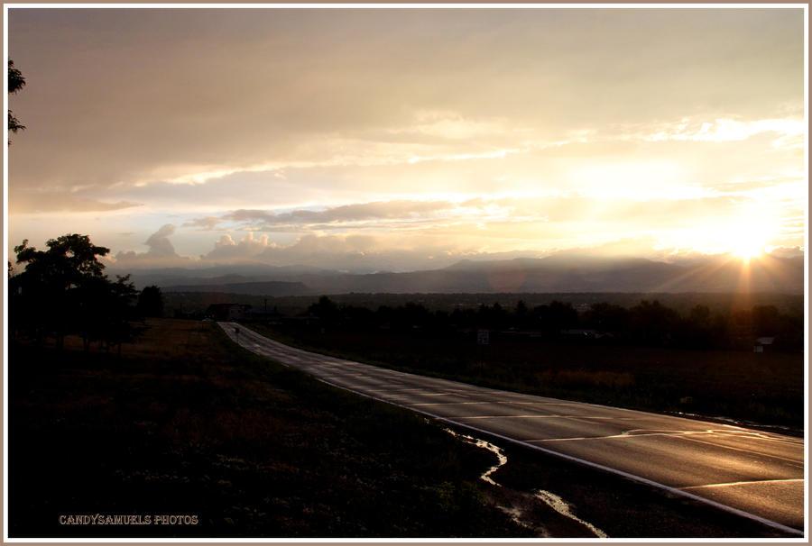 long road ahead... by candysamuels