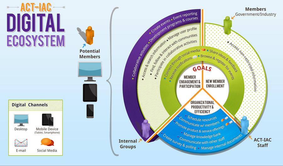 Digital Ecosystem Infographic by onyxlovechild