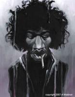 Jimi Hendrix 2 by waldron1