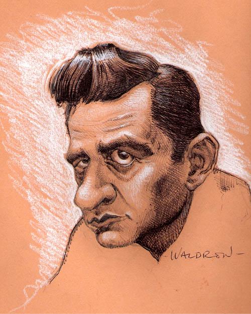 Johnny Cash by waldron1