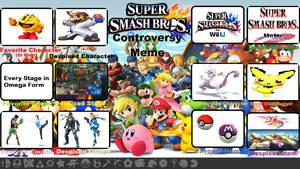 My Controversial Smash Bros. List