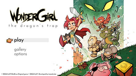 WonderGirl: The Dragon's Trap by pikaCOOL360