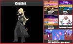 Smash Bros. Moveset Idea: Cynthia