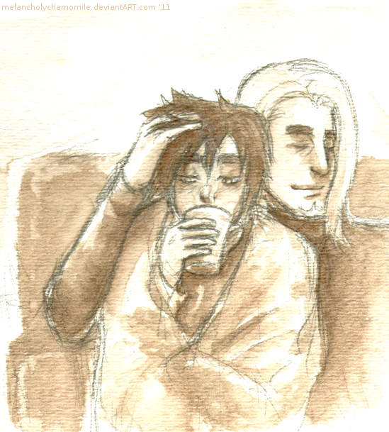 coffee or cocoa by MelancholyChamomile