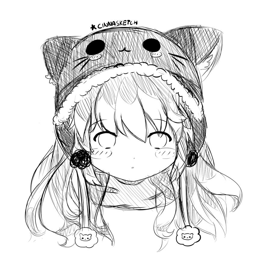 The Gallery For --u0026gt; Cute Chibi Anime Sketches