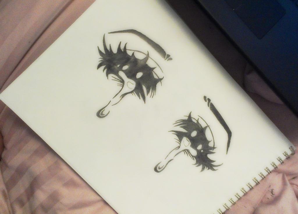 Crying Anime Eyes by KAWAIIQU33N on DeviantArt