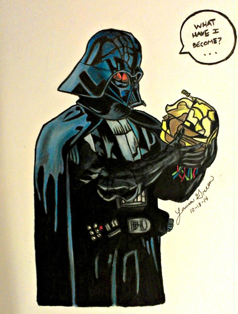 Darth Vader by KAWAIIQU33N