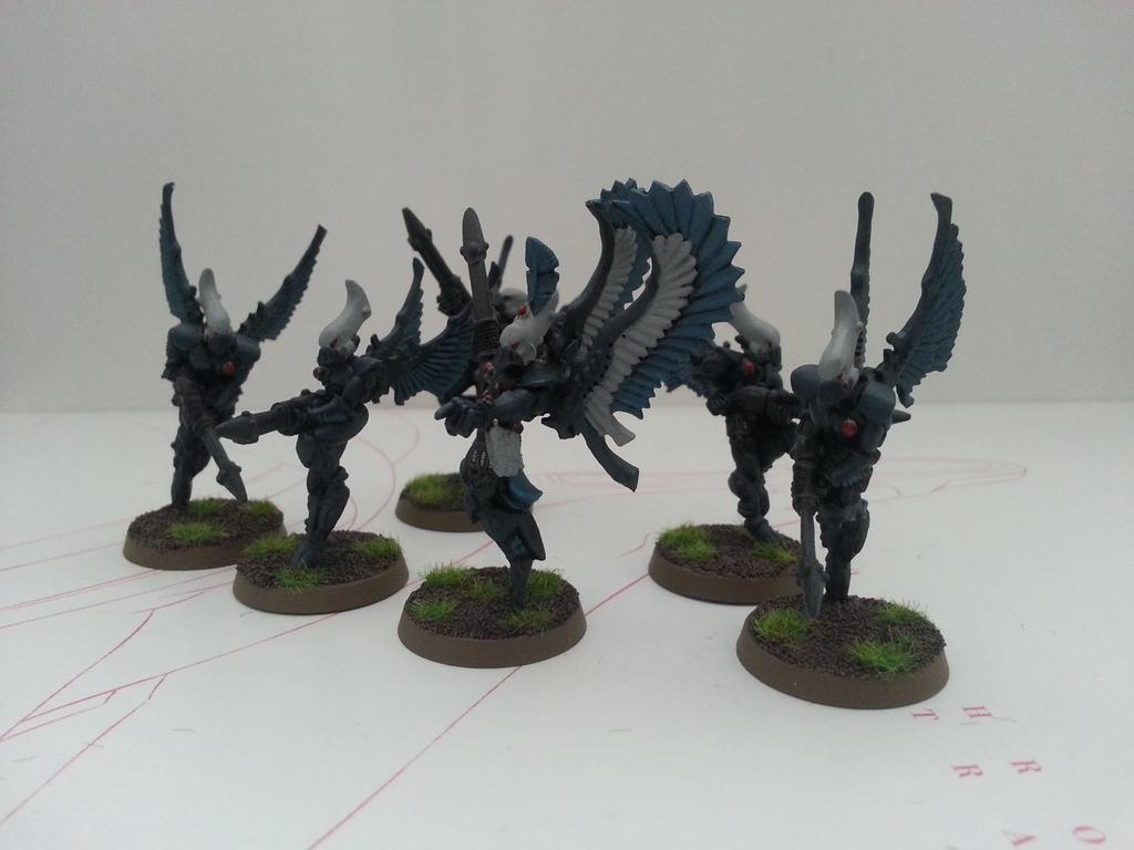 Swooping Hawks by Elder-Thing