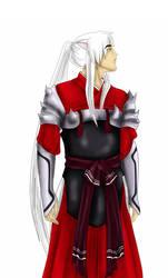 An older Inuyasha by Deklayn