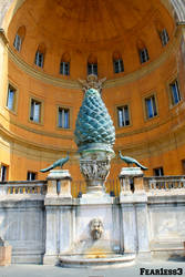 Fontana della Pigna by Fear1ess3