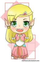[ THE LEGEND OF ZELDA ] - Princess Zelda by Meriiann