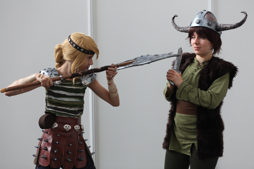 How to train your dragon hiccup and astrid by haricovert cosplay ccuart Image collections