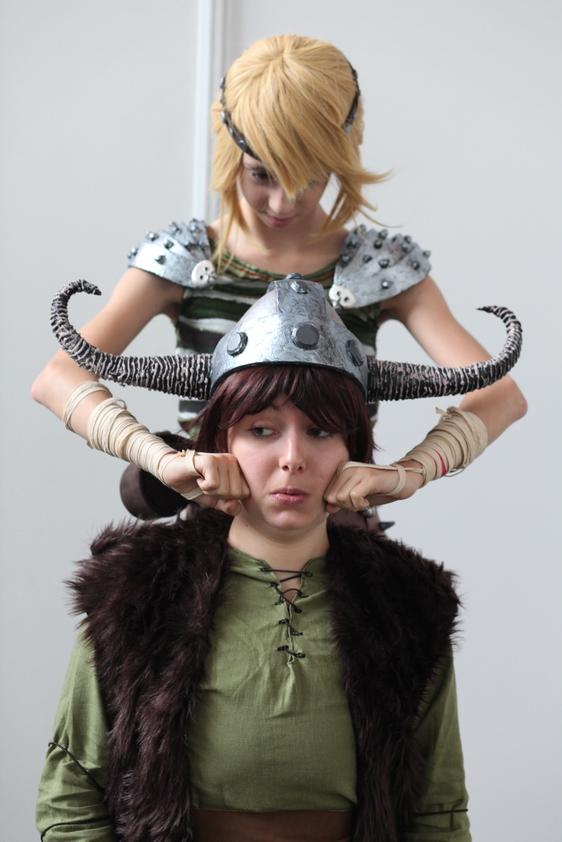 How to train your dragon astrid and hiccup by haricovert cosplay ccuart Gallery
