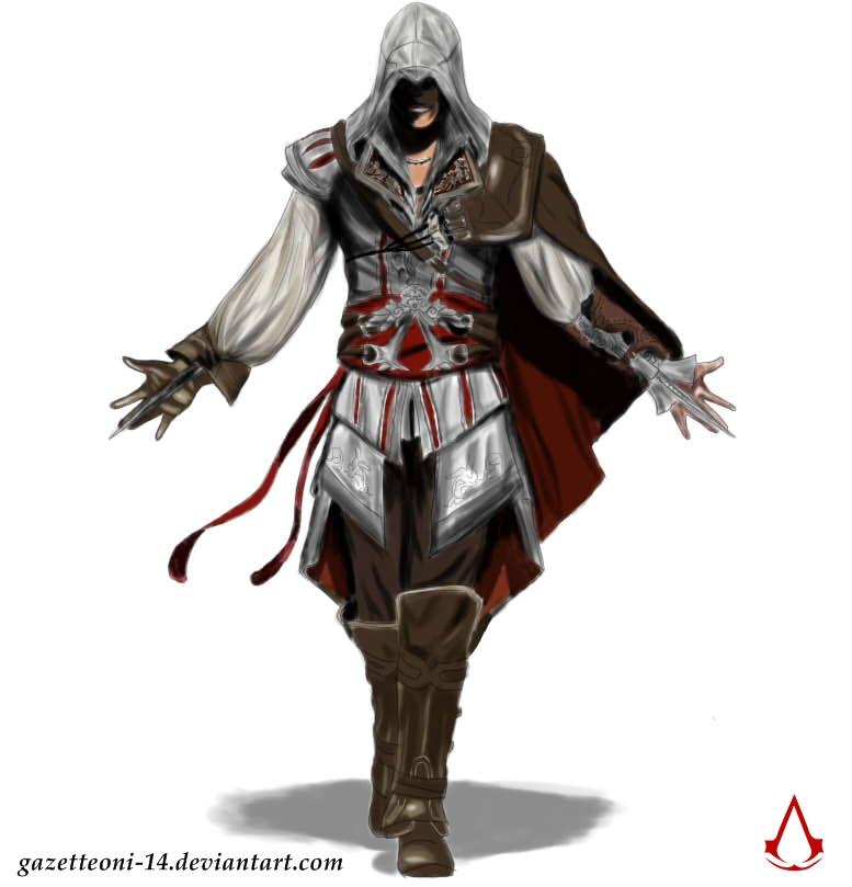 AC II-Ezio by gazetteONI-14