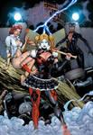 DC Girls Arkham Asylum