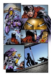 Bat Girl Page 3 by roncolors