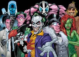 Bat Rogues by roncolors