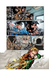 The New 52  Aquaman  1 Page 5 by roncolors