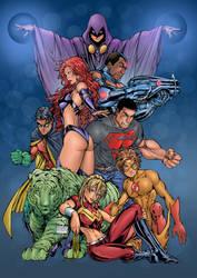Titans by roncolors