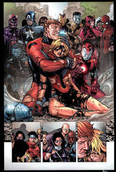 Avengers: The Children's Crusade Sequential by roncolors