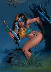 Savage Rogue 2 Sample Colors by roncolors