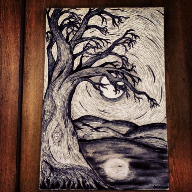 The Lovers Tree by DarkestWinter77