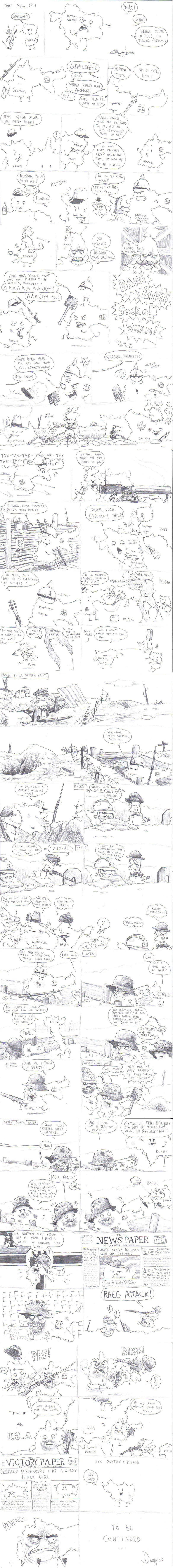 World War One: Simple Version by AngusBurgers