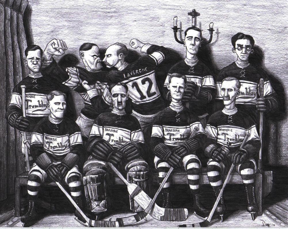 Hockey Team by AngusMcLeod