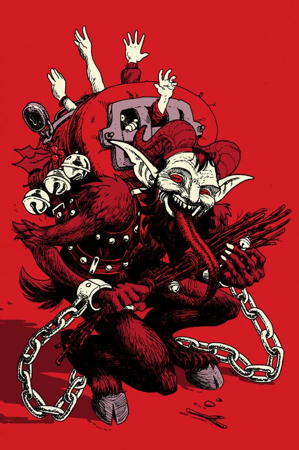 Gruss vom Krampus by AngusMcLeod