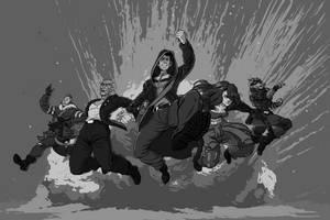 Shadowrun: Dragonfall - Commission by AngusBurgers