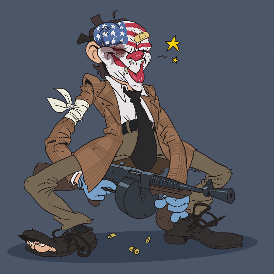 Payday 2 paper gang cloaker