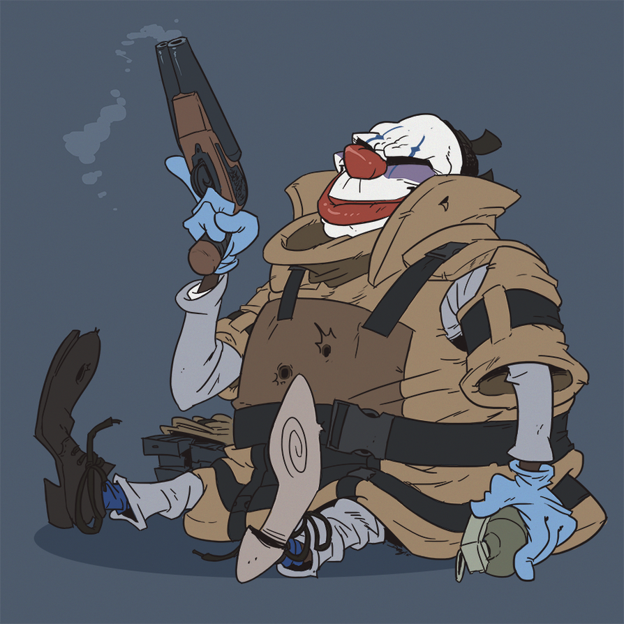 Payday  Guy In Jackets Room