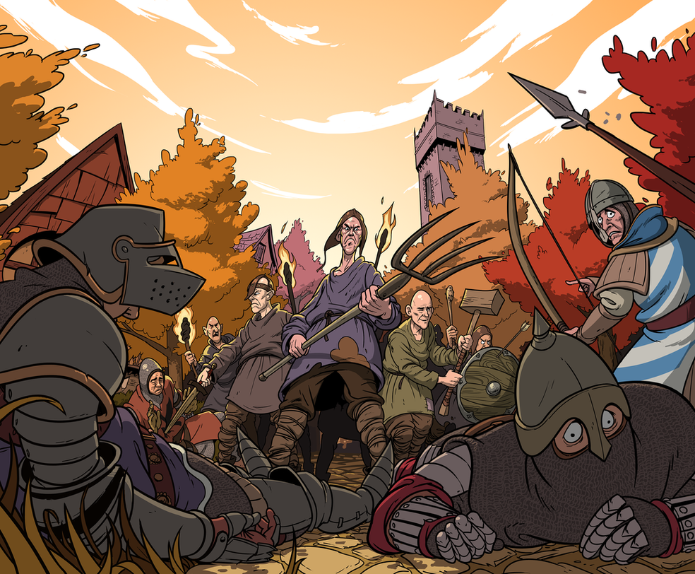Peasant's Revolt by AngusMcLeod