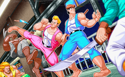 Super Double Dragon by AngusBurgers