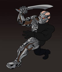 Tin Man AKA Uber Jason X by AngusBurgers