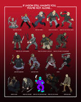 All Jasons Poster