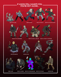 All Jasons Poster by AngusBurgers