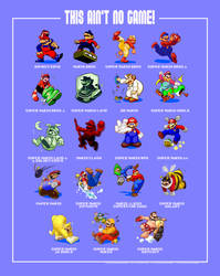 All Marios Poster