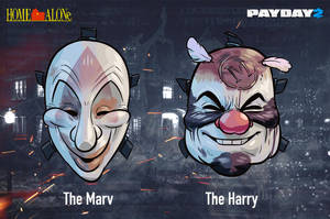 Home Alone character Pack - Masks