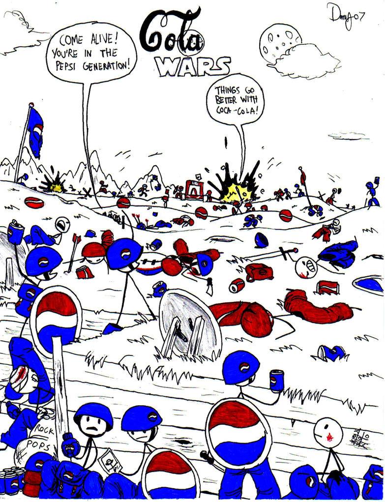 Cola Wars by AngusMcLeod