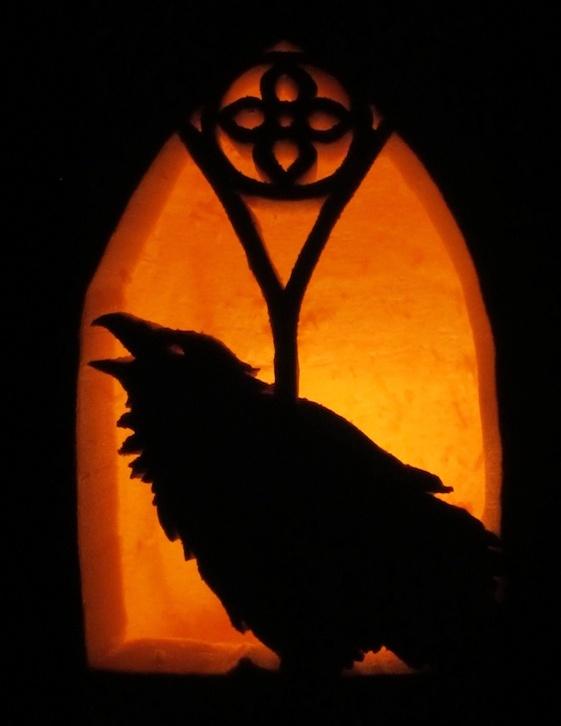 Gothic Raven Jack-o-lantern By Deathmango On DeviantArt