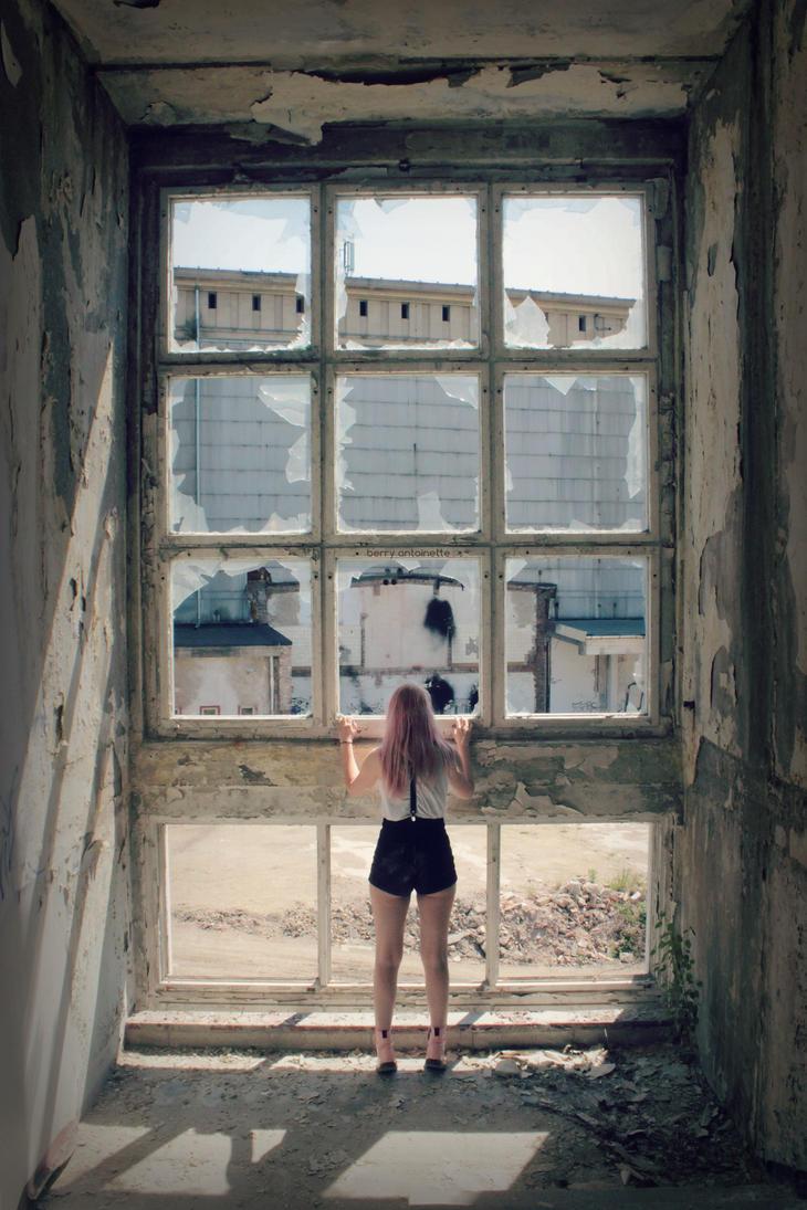 urbex window by BerryAntoinette