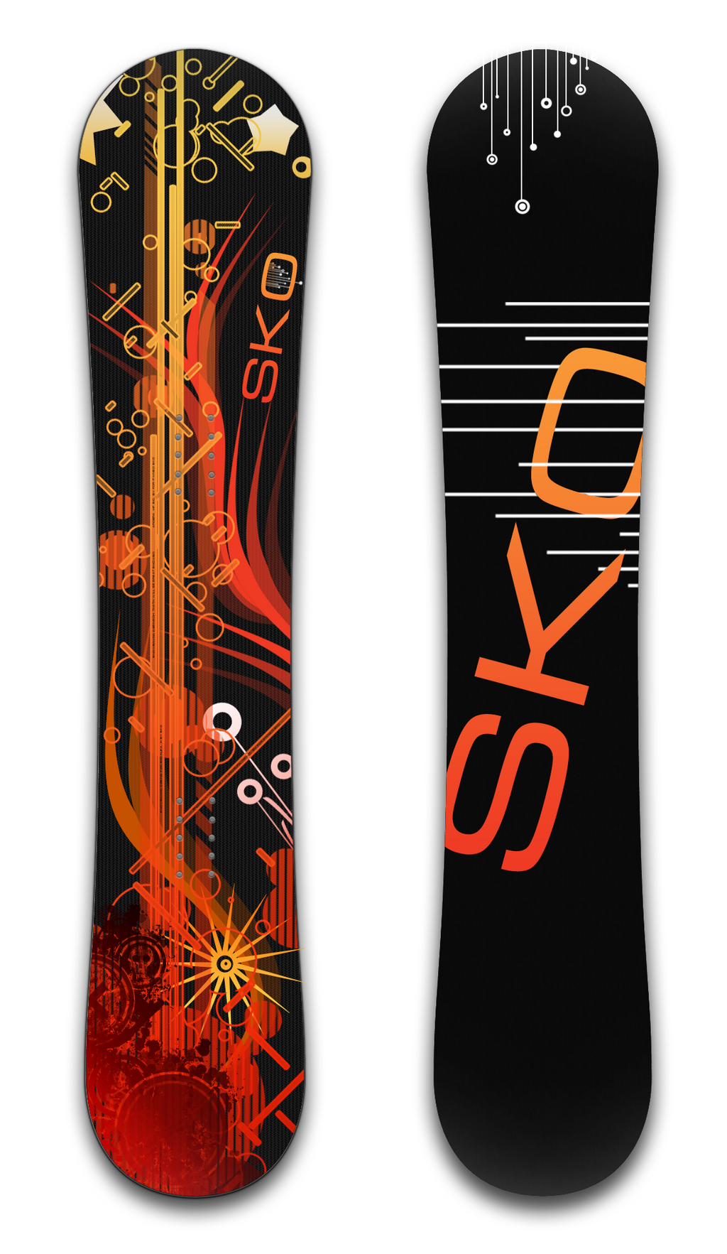 Snowboard 'Vecto' by SkoRuPa-9